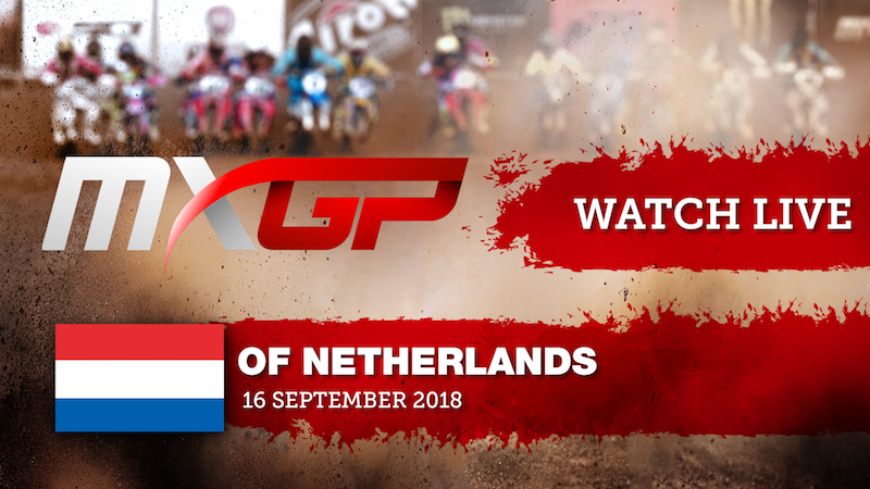 Live Streaming from the MXGP of the Netherlands
