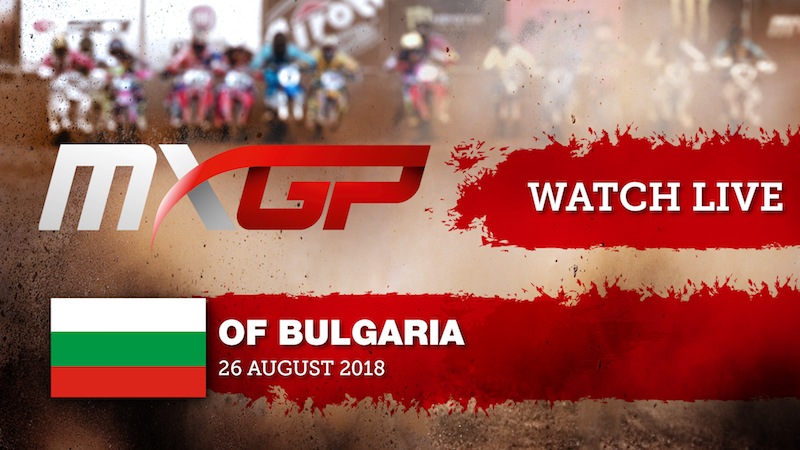 Live Streaming from the MXGP of Bulgaria