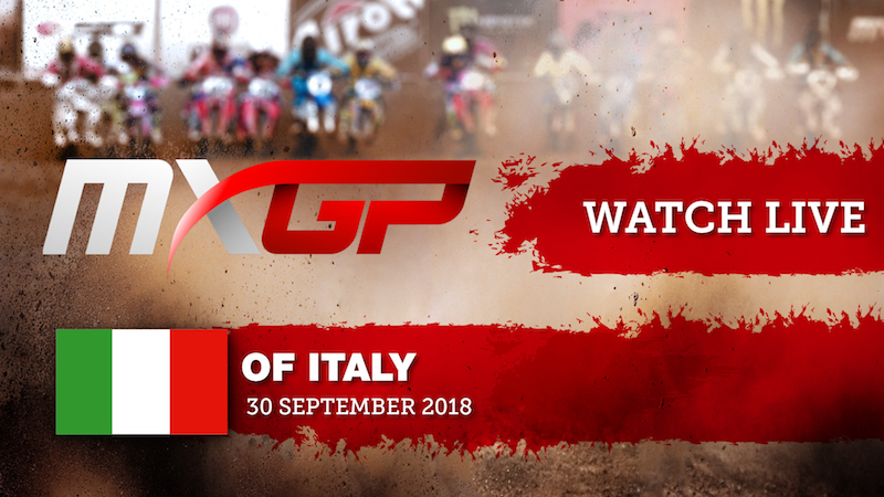 Live Streaming from the MXGP Season Finale!